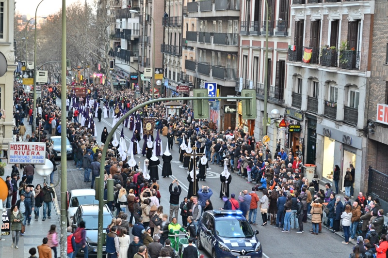 Easter celebrations in Madrid - Calle de Atocha
