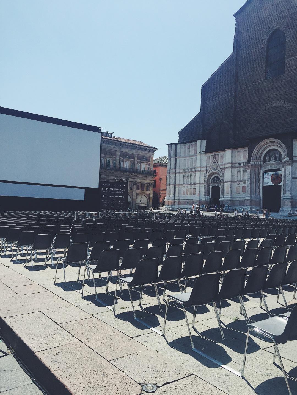 Piazza Maggiore Bologna - Sotto le stelle del cinema