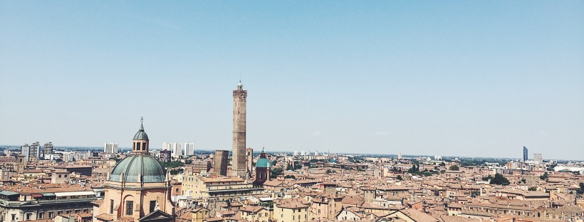 Bologna from a bird's eye view - San Petronio