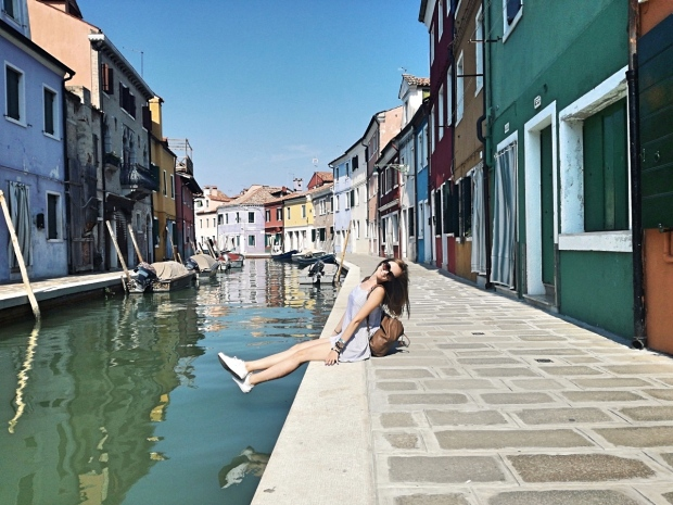 Italy travel bloggers - Burano island