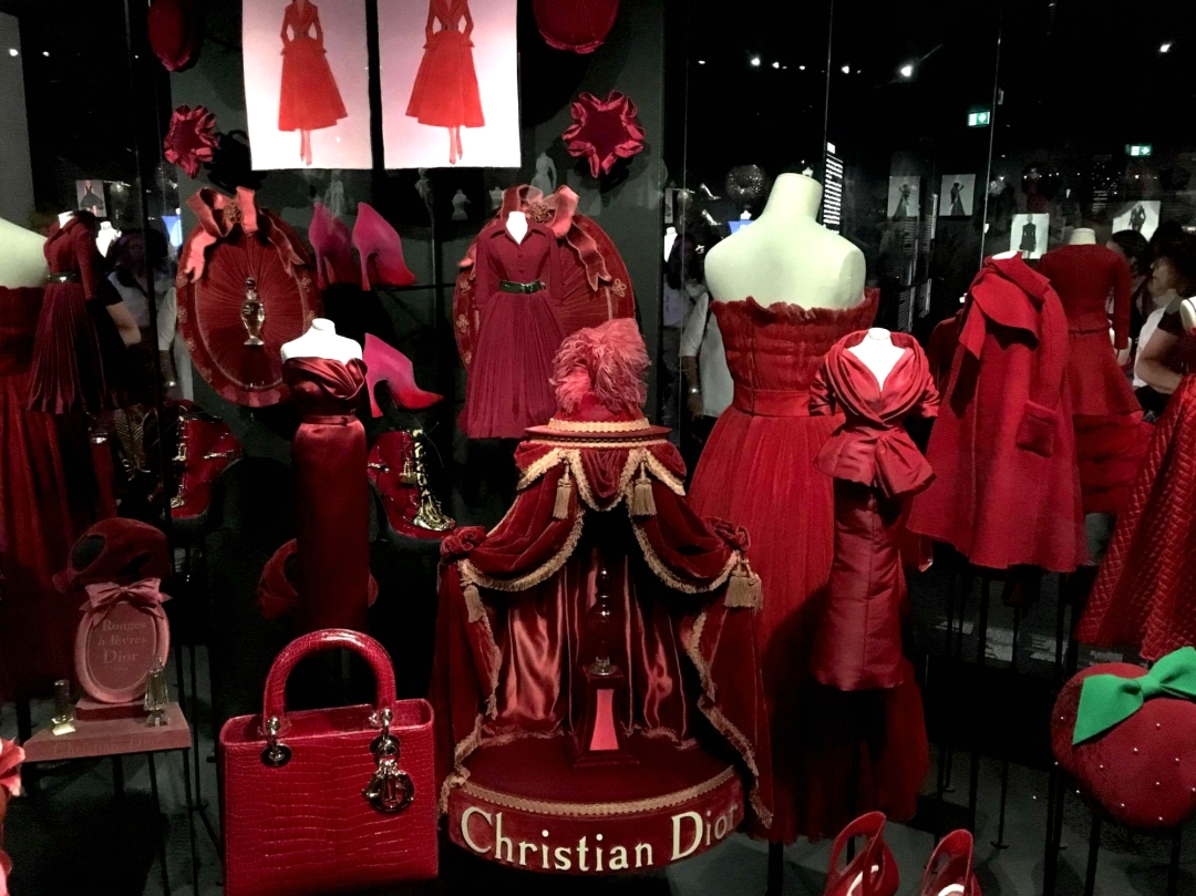 Dior red collection - When in doubt, wear red. - Christian Dior