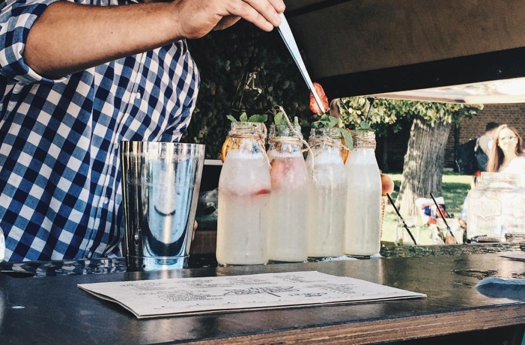 Travel Cocktails lemonade Sofia Breathes 2017