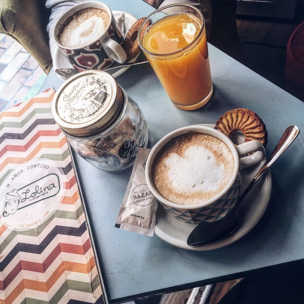 Lollina Vintage cafe Madrid 2017