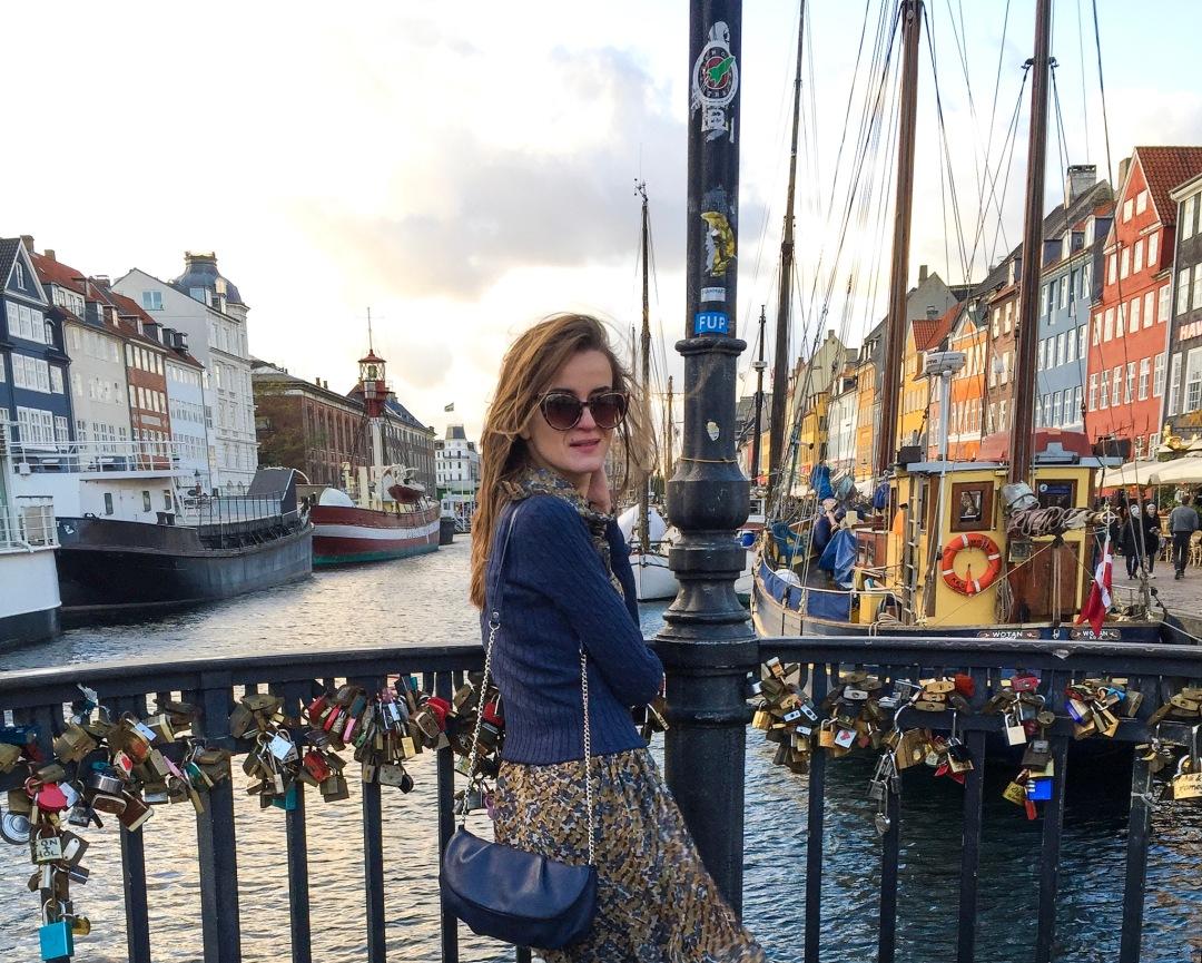 Copenhagen Denmark Nyhavn port bridge