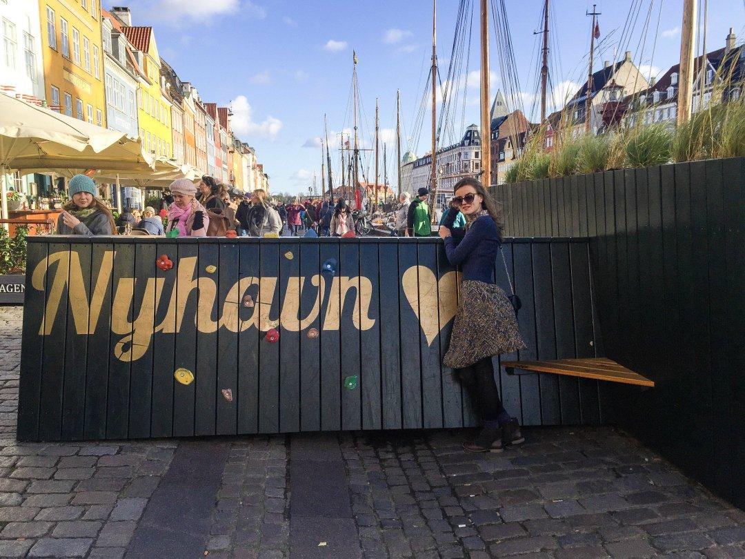 Nyhavn district Copenhagen Denmark