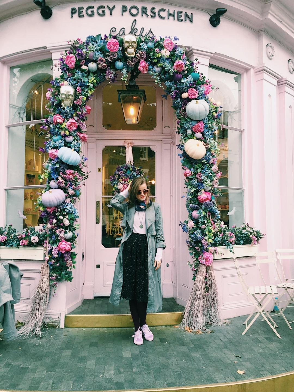 Peggy Porschen bakery Ebury street London