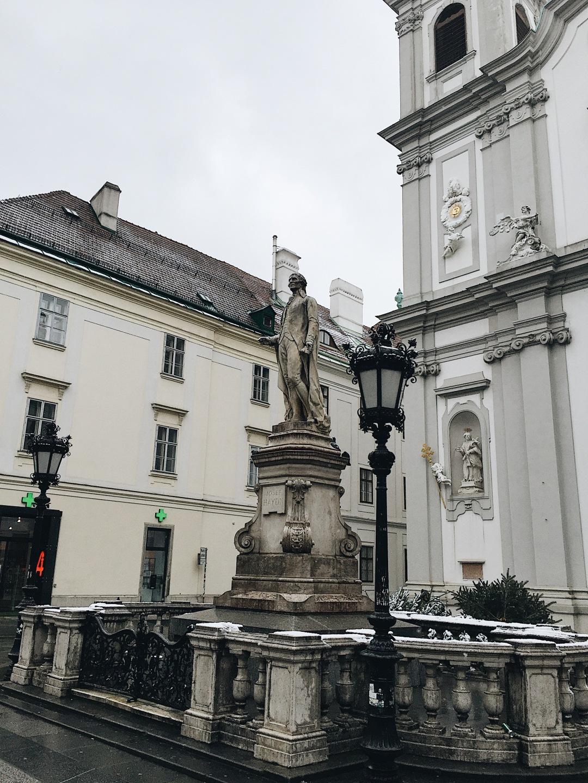Franz Joseph Haydn monument in Vienna