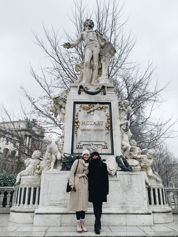 Mozartdenkmal Vienna Austria