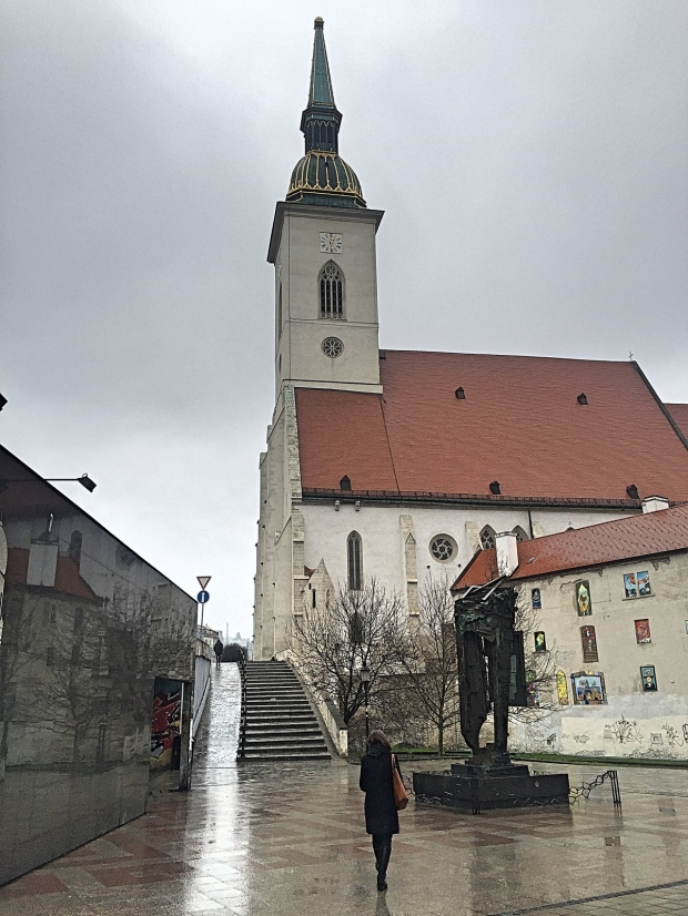 Bratislava Old Town St. Martin's Cathedral