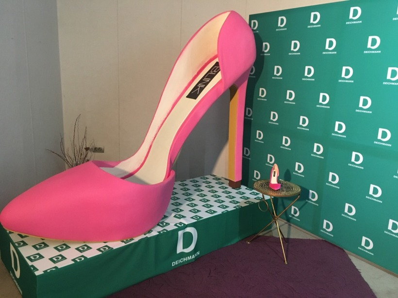 Deichmann biggest shoe