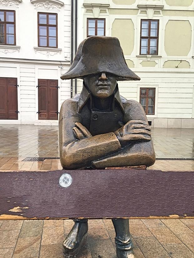 Napoleon's Army Soldier Bratislava Main Square