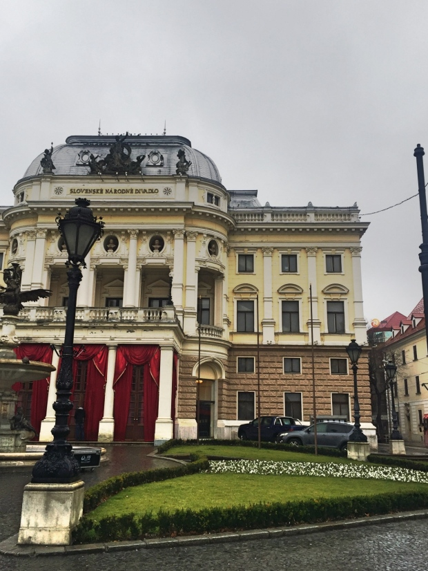 Slovak National Theatre - Slovenské národné divadlo