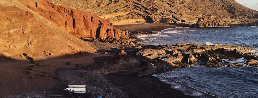 Best spot for sunset in Lanzarote - El Golfo, Yaiza