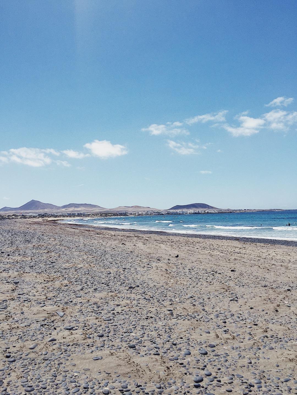 Playa de Famara - Teguise, Lanzarote, Canary Islands
