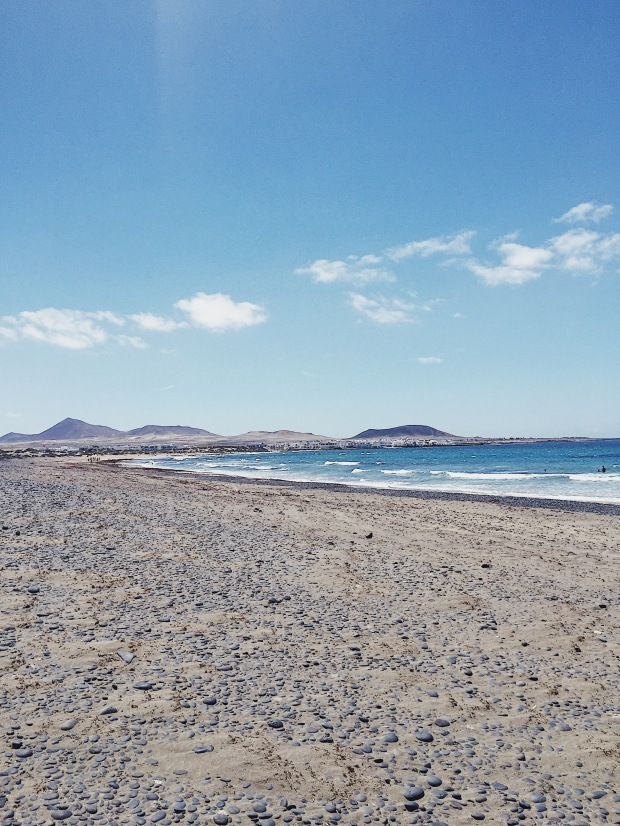 Playa de Famara - Teguise, Lanzarote, Canary Islands