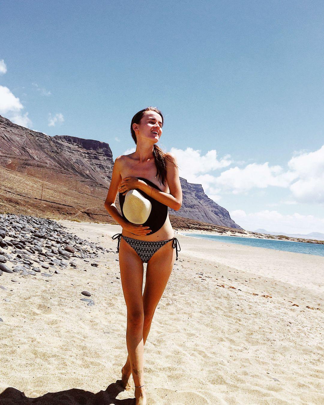 Bajo del Risco beach Lanzarote
