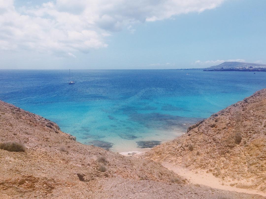 Playa de Papagayo in Yaiza Lanzarote