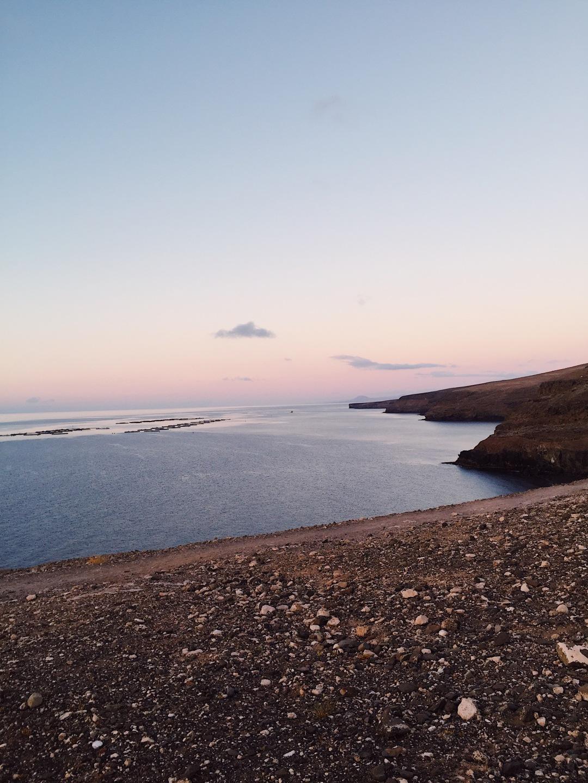 sunrise in Playa La Arena Yaiza Lanzarote