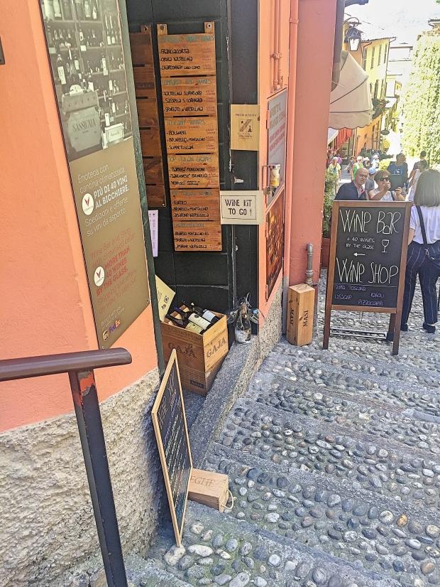 Enoteca Wine Bar Bellagio lake Como - Lombardia Italy