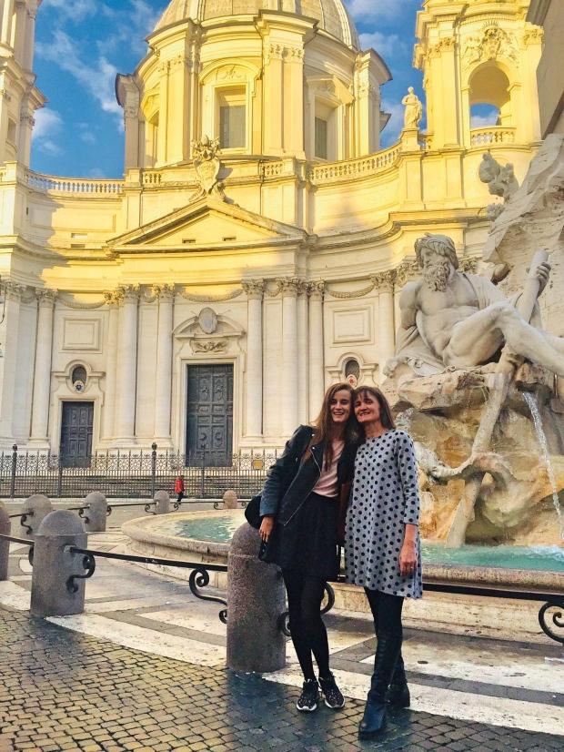 Fontana dei Quattro Fiumi piazza Navona Rome Bernini