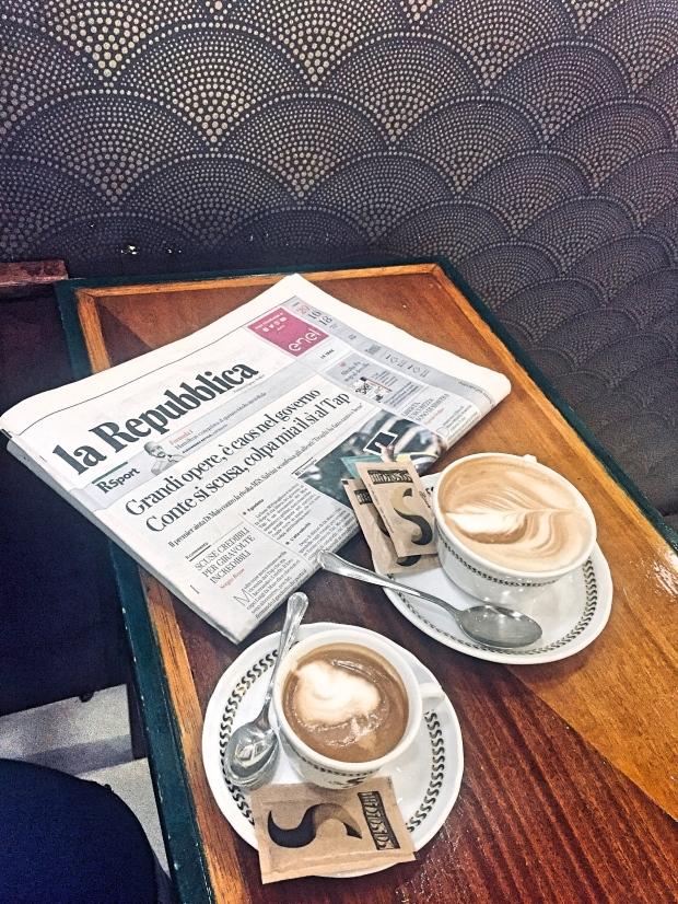 Sciascia caffe 1919 Roma caffe macchiato