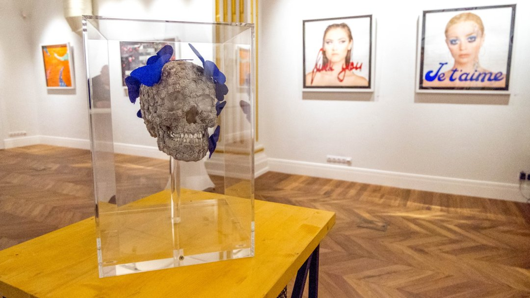 Stephen Wilson exhibition OBORISHTE 5 Gallery and Hall Sofia 2018