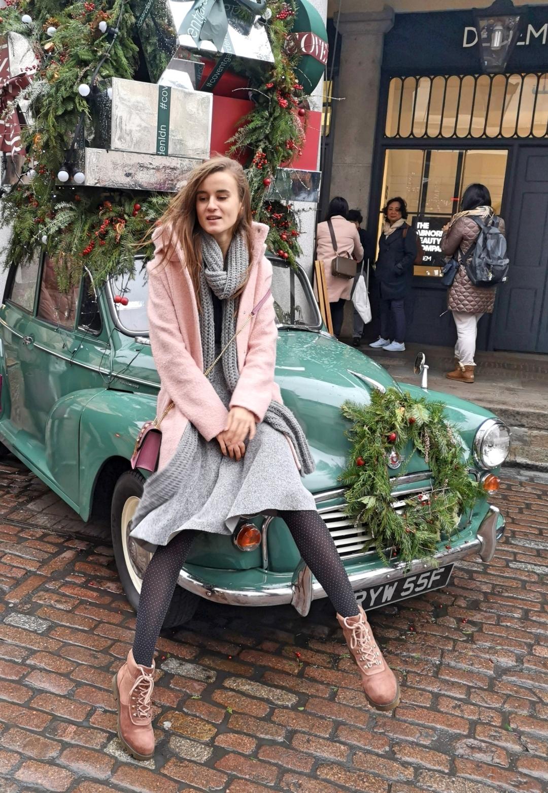 Covent Garden London - Christmas car Winter 2018