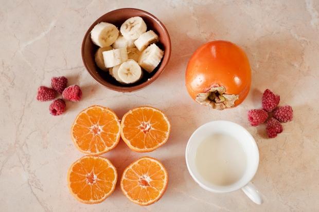 Vegan Persimmon smoothie recipe