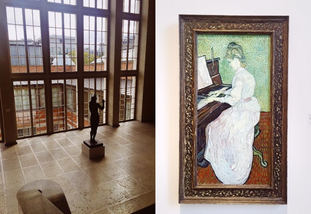 Vincent van Gogh - Marguerite Gachet au piano 1890 Kunstmuseum Basel