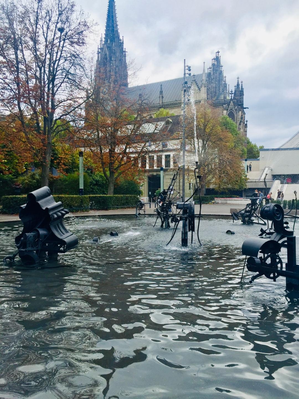 Tinguely Brunnen fountain Basel
