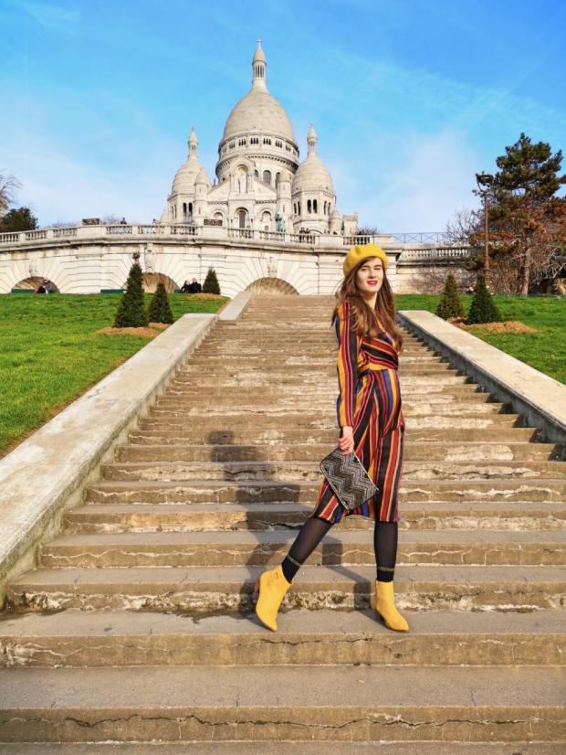 Most Instagrammable spots in Paris France - Montmartre hill Sacre Coeur