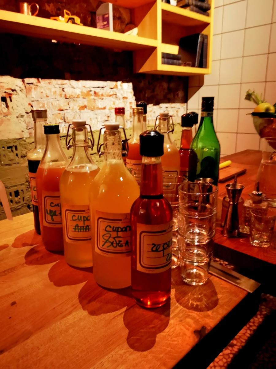 Sputnik bar - best cocktails in Sofia Bulgaria