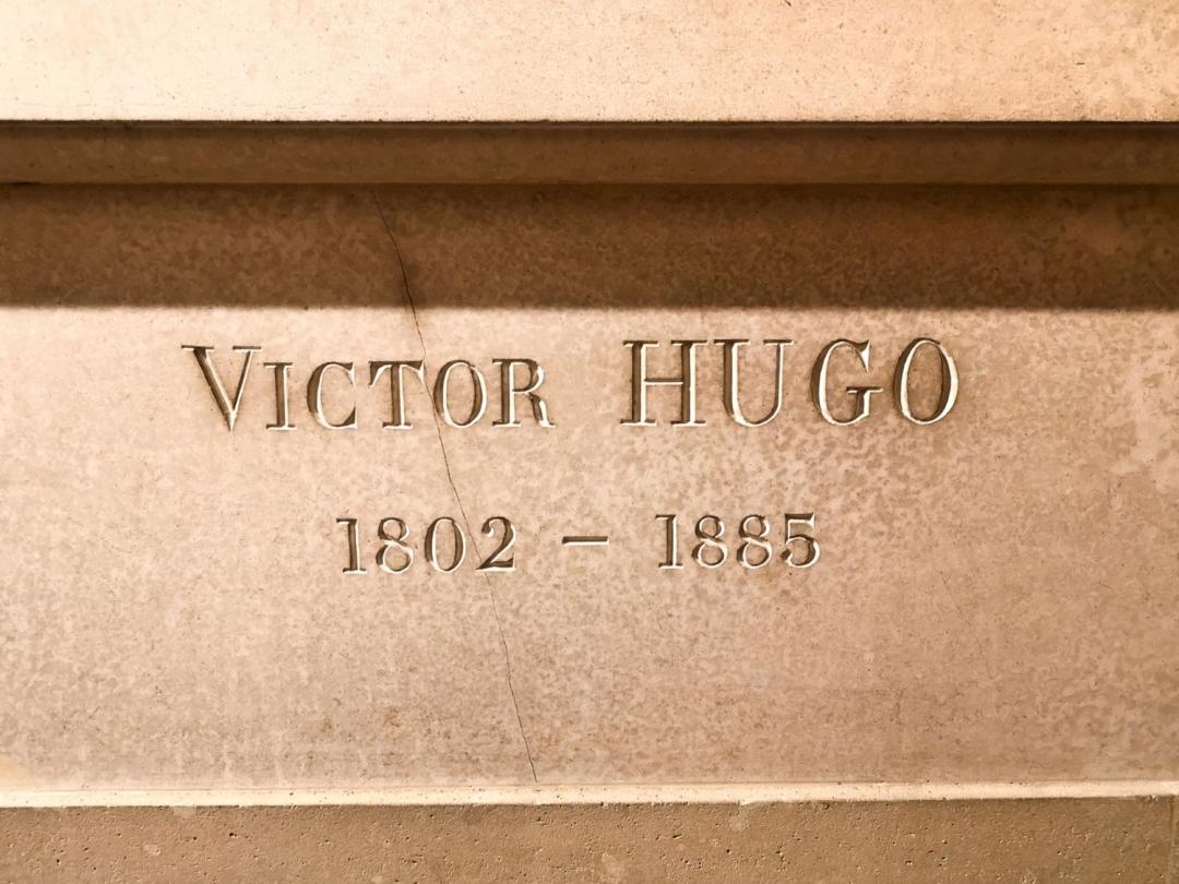 Victor Hugo grave - Pantheon Paris - address Place du Pantheon 75005 Paris