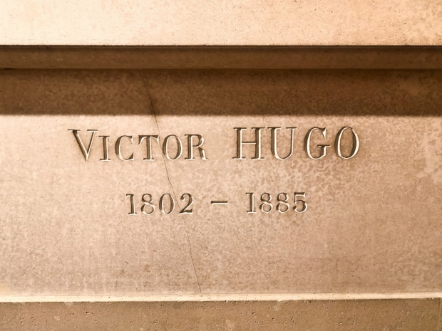 Victor Hugo grave - Pantheon Paris - address Place du Pantheon 75005 Paris