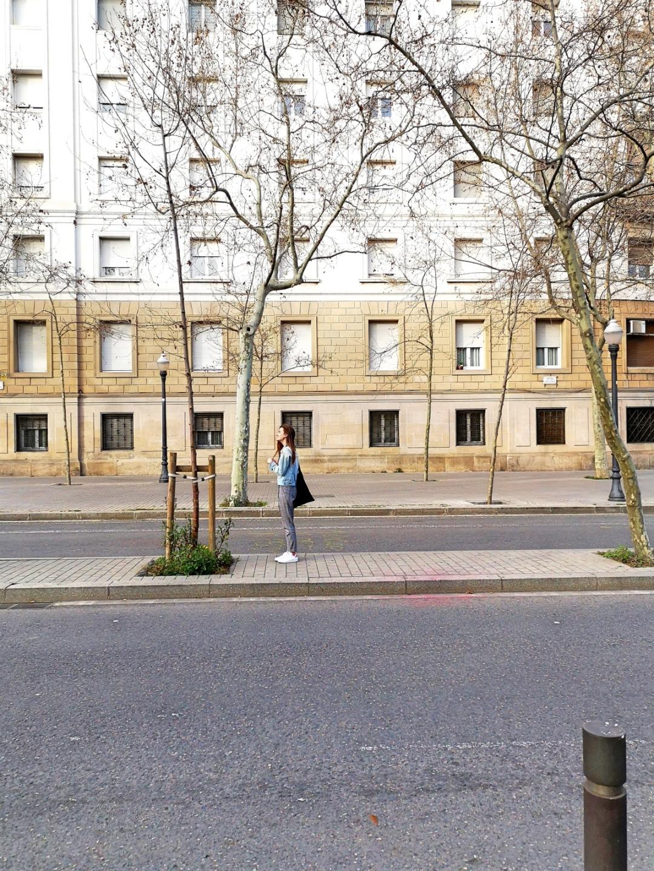Street style bloggers in Barcelona