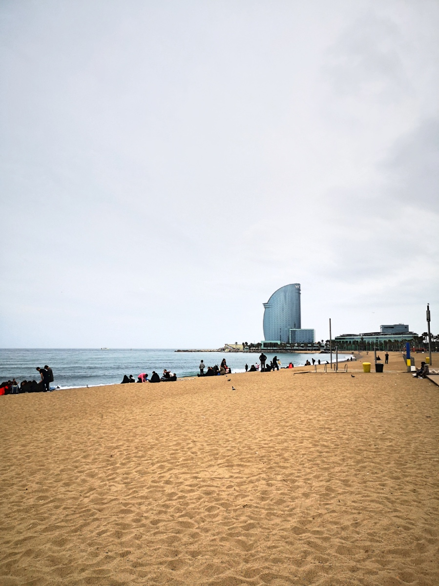 Best beaches in Barcelona - Barceloneta