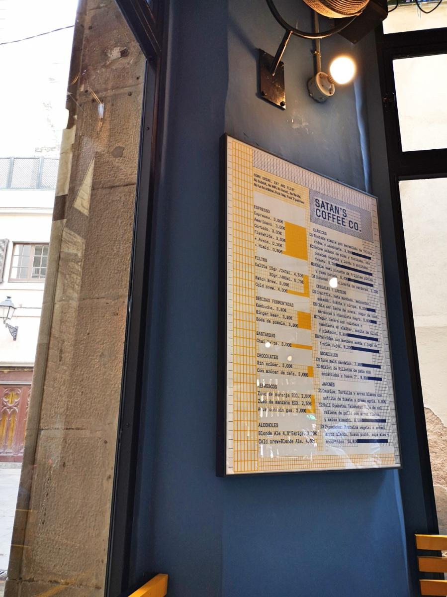 Satan Coffee Corner Barcelona address