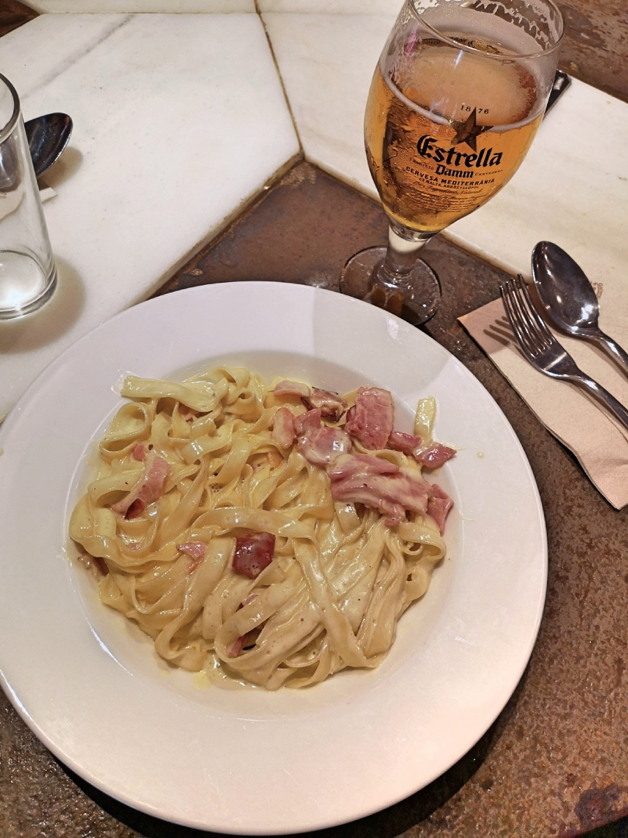 Macchina Pasta Bar Barcelona best tagliatelle