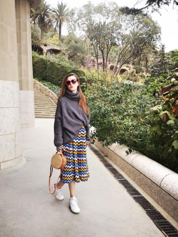 Sala hipòstila Parc Guell Gaudi