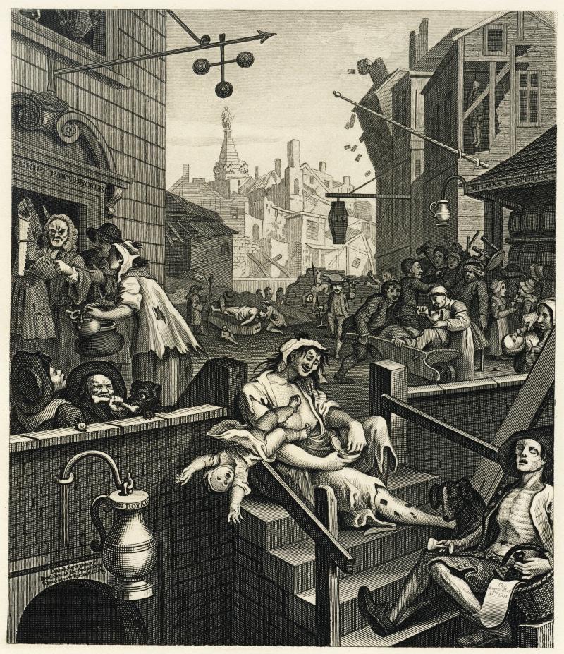 Gin Craze London Great Britain