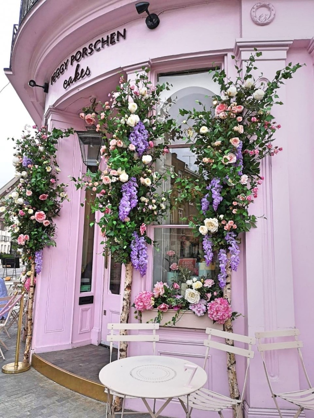 Peggy Porschen address 116 Ebury St, Belgravia, London SW1W 9QQ, UK