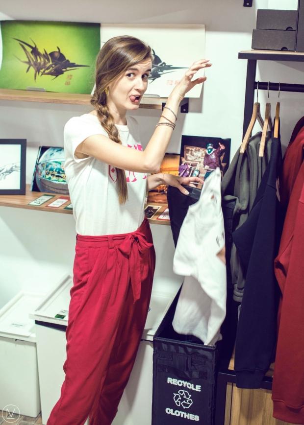Рециклиране на стари дрехи от памук 0511