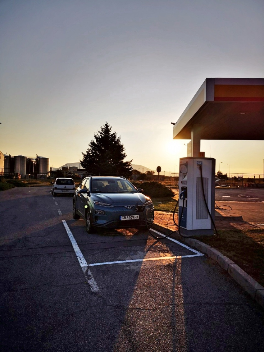 Electric car Spark charging stations Bulgaria - Shell Sliven