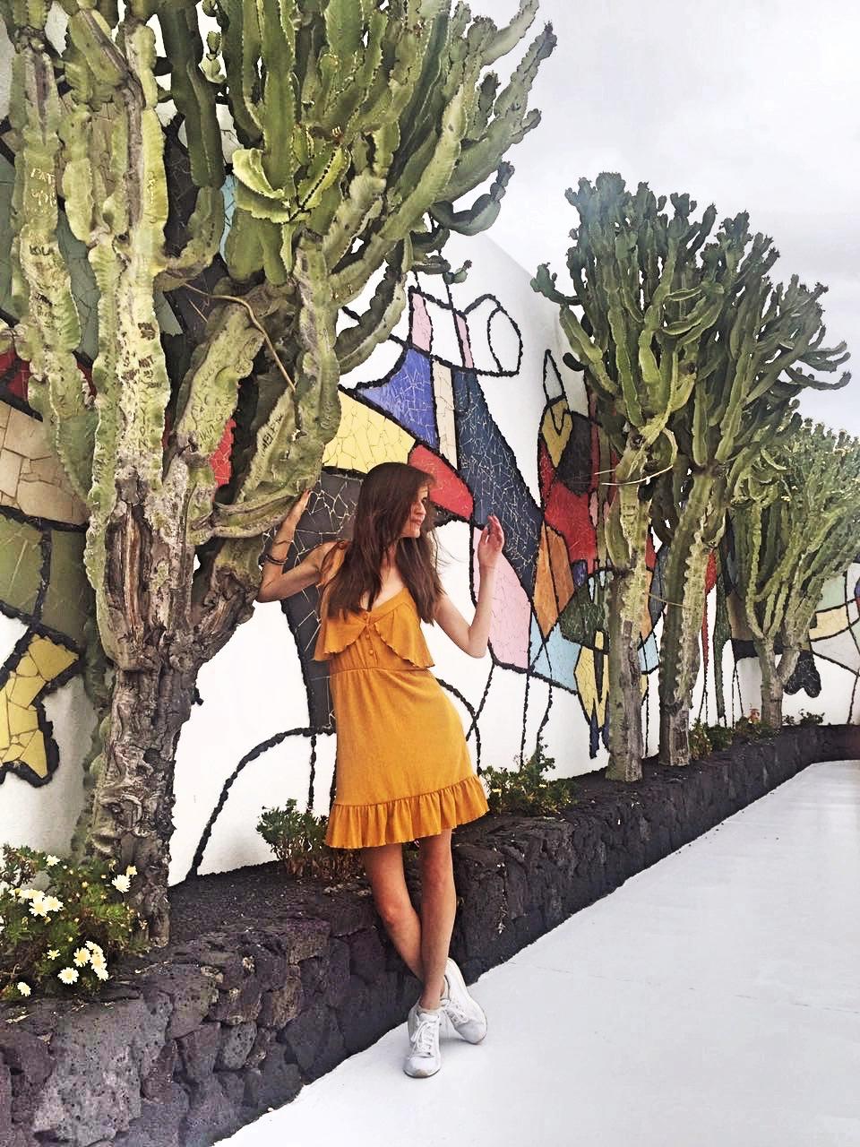 Lanzarote cacti house Cesar Manrique