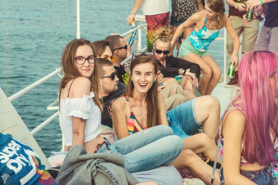 Bass Sea Festival 2019 boat party Bulgaria