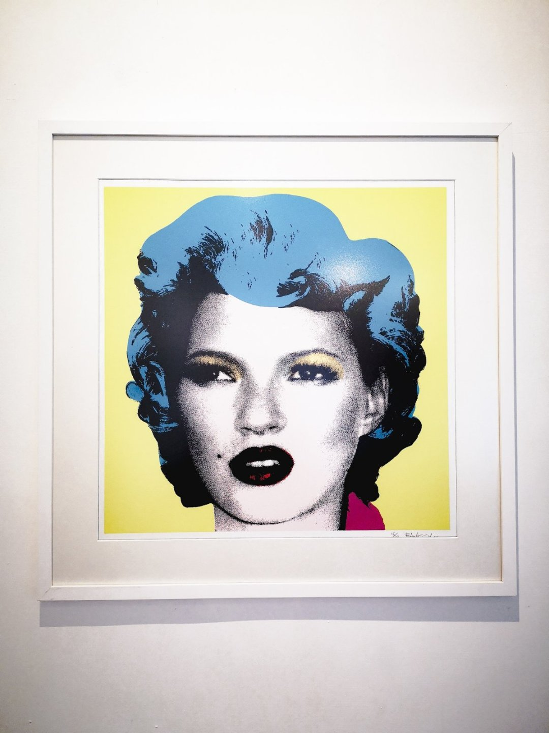 Wedding gift from Banksy to Kate Moss