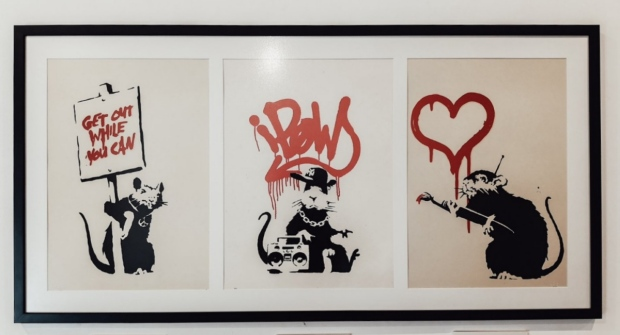 The rats of Banksy
