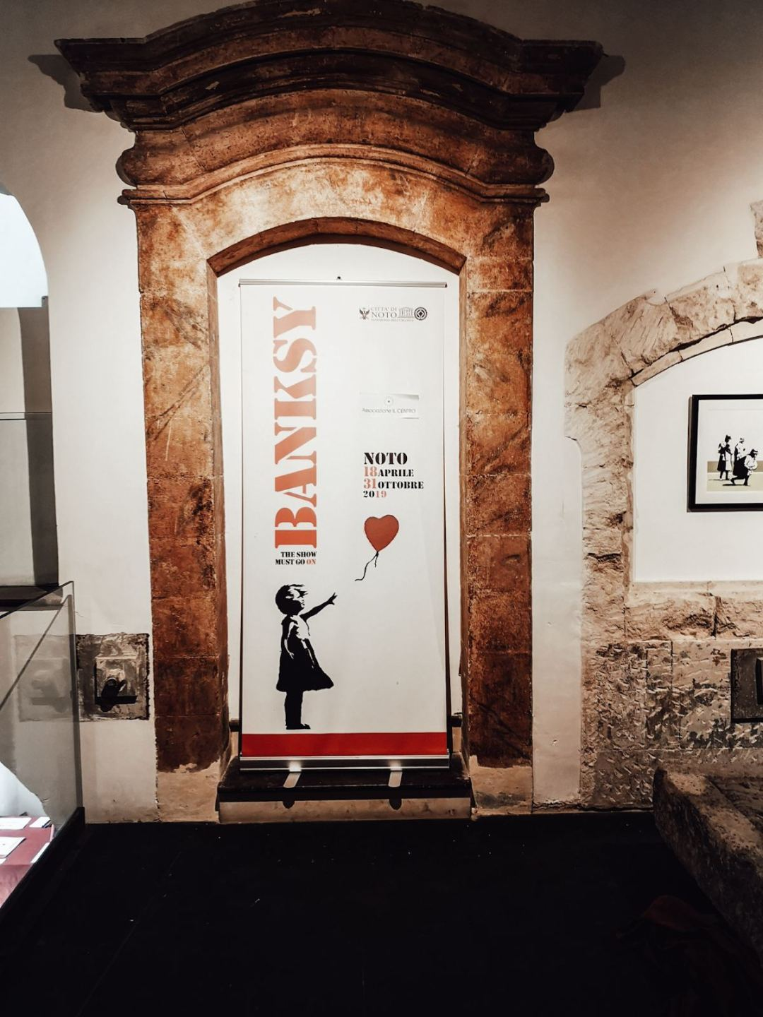 Banksy The Show Must Go On exhibition in Europe 2019