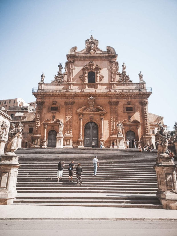Saint Peters Church Modica Sicily