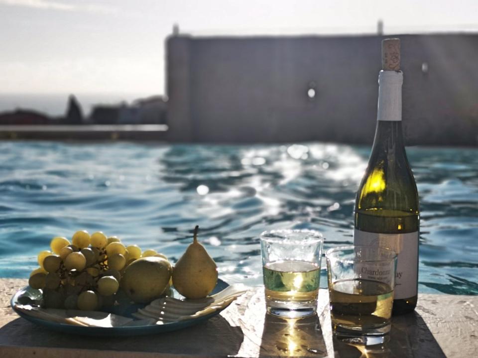 Chardonnay in Marina di Ragusa Sicily